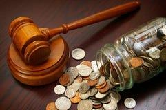 Legalne monety Zdjęcia Royalty Free