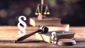 Legalny biuro Adwokat przy prawem zdjęcie wideo