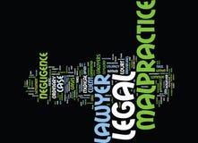 Legalny nadużycia prawnika teksta tła słowa chmury pojęcie Zdjęcie Stock