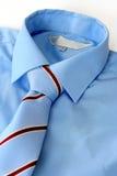 Legame & camicia fotografie stock
