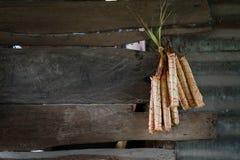 Legame bollito del riso appiccicoso fotografia stock