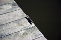 Legame della barca Fotografia Stock