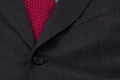 Legame di potenza di affari nel colore rosso Fotografia Stock