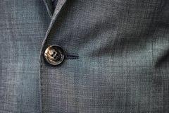 Legame impiegatizio del primo piano costoso di Suit Success Work dell'uomo d'affari Fotografie Stock Libere da Diritti
