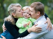 Legami di famiglia Fotografie Stock Libere da Diritti