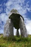Leganany dolmen Royalty Free Stock Photography