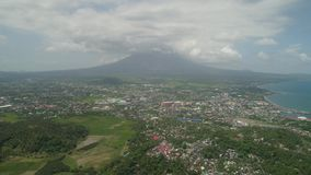 Legazpi πόλη στο Pihilippines, Luzon φιλμ μικρού μήκους
