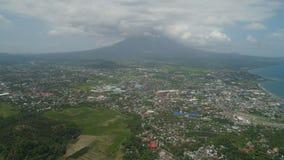 Legazpi-Stadt im Pihilippines, Luzon Lizenzfreie Stockfotografie