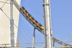 Lege achtbaan Royalty-vrije Stock Afbeeldingen