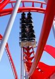 Lege achtbaan Stock Afbeelding