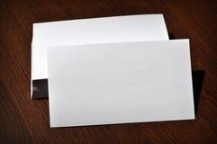 Lege adreskaartjes Stock Foto's