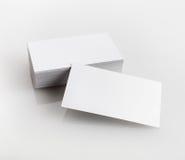 Lege adreskaartjes Stock Foto