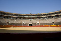 Lege arena Royalty-vrije Stock Foto's