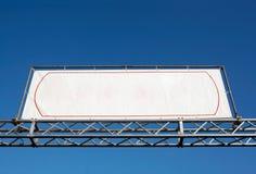 Lege banner royalty-vrije stock afbeelding