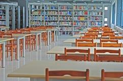 Lege bibliotheek Stock Foto's