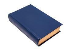 Lege blauwe boekdekking Stock Foto's