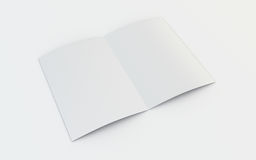 Lege brochure Royalty-vrije Stock Afbeeldingen