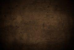 Lege bruine concrete oppervlaktetextuur Stock Fotografie