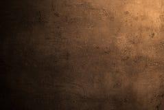 Lege bruine concrete oppervlaktetextuur Royalty-vrije Stock Afbeeldingen