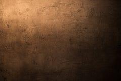 Lege bruine concrete oppervlaktetextuur Royalty-vrije Stock Foto's