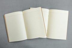 Lege catalogus, tijdschrift, boekmalplaatje met zachte schaduwen klaar stock afbeeldingen