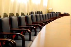 Lege conferentieruimte royalty-vrije stock afbeeldingen