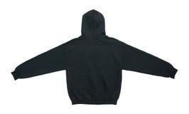lege de kleuren zwarte achtermening van het hoodiesweatshirt Stock Afbeeldingen