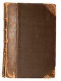 Lege dekking van een oud uitstekend boek Stock Afbeelding