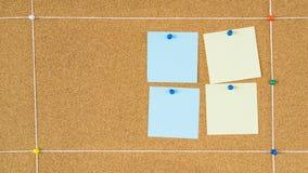 Lege die post-itnota's in het projectraad van het scrumverbod worden gespeld stock foto's
