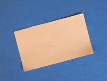 Lege document markering royalty-vrije stock afbeelding