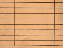 Lege document vorm royalty-vrije stock afbeelding