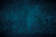 Lege donkere concrete oppervlaktetextuur Stock Foto