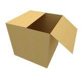 Lege doos Royalty-vrije Stock Afbeelding