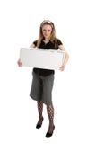 Lege doos voor verkoop Royalty-vrije Stock Foto