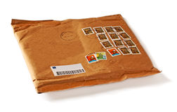 Lege envelop Stock Afbeelding