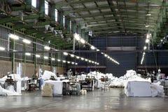 Lege fabriek royalty-vrije stock foto's