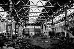 Lege fabriek Royalty-vrije Stock Fotografie
