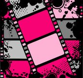 Lege film kleurrijke strook Royalty-vrije Stock Foto's