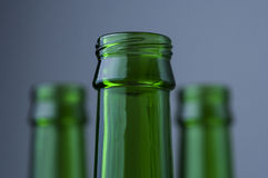 Lege flessen Stock Afbeeldingen