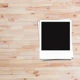 Lege fotokaders en vrije ruimte op linkerkant Royalty-vrije Stock Foto's