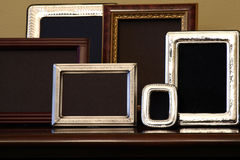 Lege Frames Stock Foto