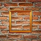 Lege frames in een ruimte Stock Afbeeldingen