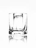 Lege glazen voor bar Royalty-vrije Stock Afbeeldingen