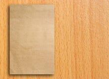 Lege grijze document catalogus Stock Foto