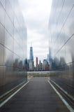 Lege Hemel: New Jersey 11 September Gedenkteken Stock Foto's