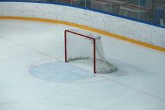 Lege hockeypoort stock afbeeldingen