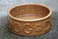 Lege hondkom royalty-vrije stock afbeelding