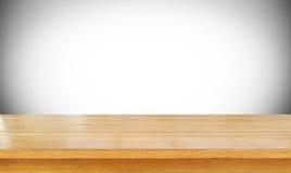 Lege houten stock afbeelding