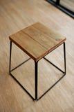 Lege houten kruk Stock Foto