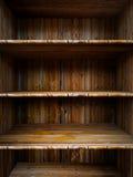 Lege houten plank royalty-vrije illustratie